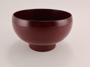 Preference Ancient Echizen Lacquerware Resin Donburi Bowl