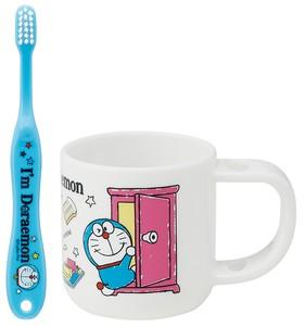 スタンド付コップ&歯ブラシセット 【I'm Doraemon ひみつ道具】