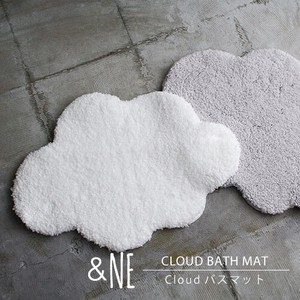 Cloud Bath Mat Made in Japan