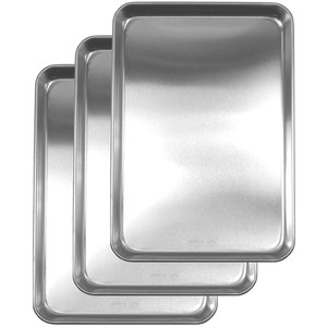 NAGAO TSUBAMESANJO stainless Preparation tray 3pcs set