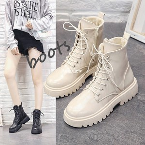 Ladies Shoe Leather Casual Shoe Dark Red Boots Boots Work Boots
