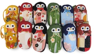 Owl Eyeglass Case