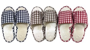 Health Sandal Checkered 3 Colors Assort