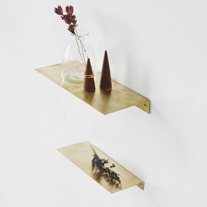 Brass Brass Plate Shelf