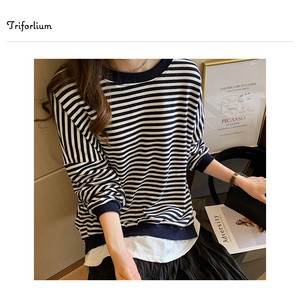 [ 2020NewItem ] 3 Colors Layering Border Long Sleeve T-shirt