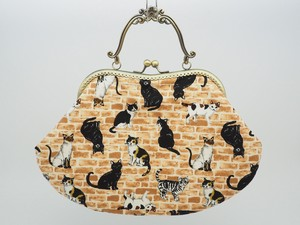 Feeling Coin Purse Bag Base Brick Cat