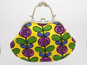 Feeling Coin Purse Bag Base Yellow Flower