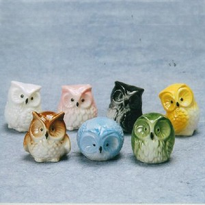 7 Colors China 7 Colors Owl Owl Ornament