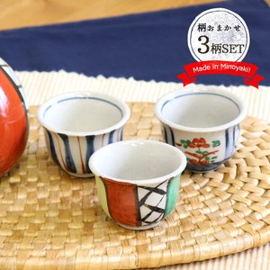 Mino Ware Hand-Painted Cup Ceramic Mino Ware Cup Japanese sake cup