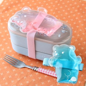bear Band 1 Pc Bento (Lunch Boxes) Refrigerant Band Pink Blue bear