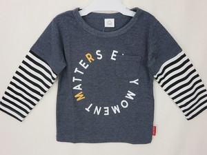 Jersey Stretch Pocket Border Toddler Layard T-shirt