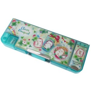 for Kids Pencil Case Pencil Case clover Both Sides Pencil Case