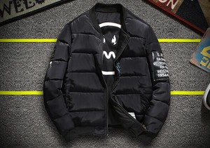 Both Sides Men's Down Jacket Insulated Jacket Quilt Coat Padding Coat Outerwear Top