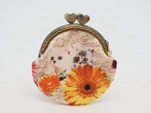Feeling Coin Purse Pouch Coin Case Base Cat Alpine Meadow