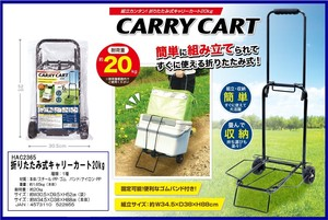 Folded Chair Carry S/S
