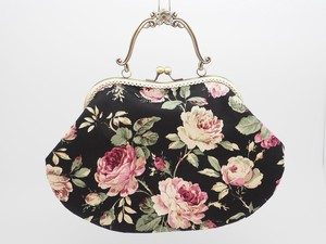 Feeling Coin Purse Bag Base Rose Black