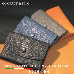Italy Leather Coins Card