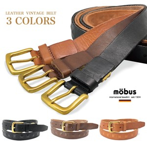 Cow Leather One Sheet Pyramid Leather Belt