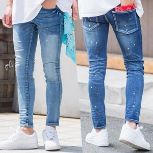 S/S pen Processing Super Stretch Skinny Denim Pants