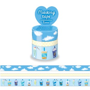 Washi Tape Assort Blue