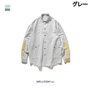 Men's Fashion Long Sleeve Shirt Unisex Casual Outerwear A/W