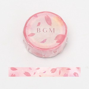 [BGM] Washi Tape  / Masking Tape Sakura Flower AP
