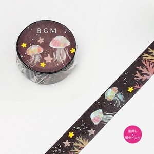 [ 2020NewItem ] [BGM] Washi Tape  / Masking Tape Night Dream