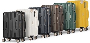 Travel Expansion Effect Attached Fastener Type Suit Case