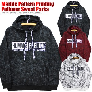 [ 2020NewItem ] Marble Repeating Pattern pin Street Sweat Hoody