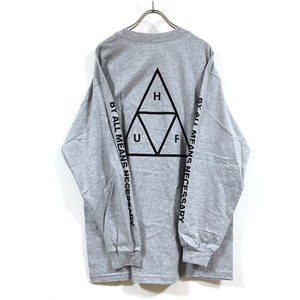 Triangle Long Sleeve T-shirt Print Men's