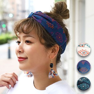 Tipi Embroidery Hair Band Ribbon Embroidery Cotton Ethnic Asia