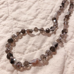 Free Adjuster Necklace Gray