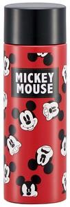 ポケットステンレスマグボトル 120ml 【Mickey Mouse Faceパターン】