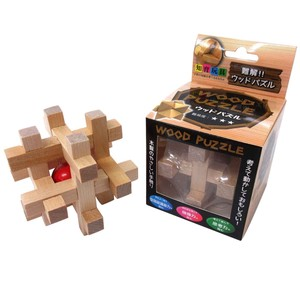 White Various Accessories Wooden Puzzle