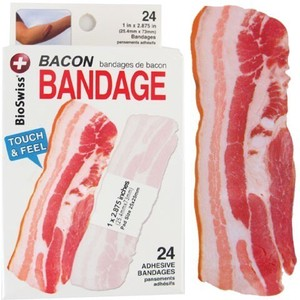 and Bacon Band‐Aid Plaster
