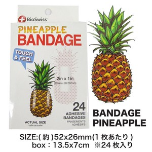 Pineapple Band‐Aid Plaster