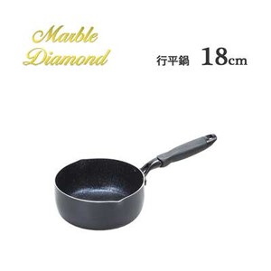 Midnight Marble IH Supported Saucepan Pots with 2 Handle PEARL METAL