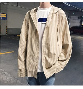 Men's Strap Food Shirt Casual Outerwear S/S