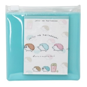 "Memo Pad ""juicy na mix"" Slider Cased Memo Pad Hedgehog"