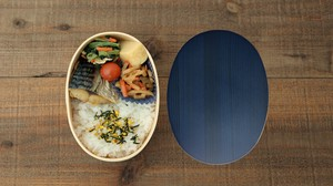 Nature Tint Bento Box Koban Blue
