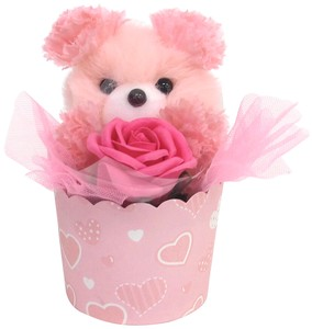 Flower Animal bear Pink