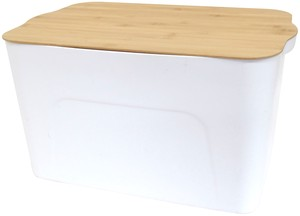 Bamboo Storage White