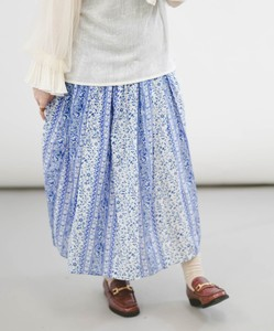 [ 2020NewItem ] Flower Panel Pattern Skirt