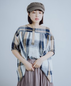 [ 2020NewItem ] Checkered Pullover Tunic