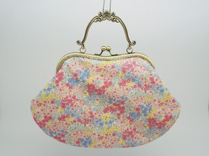 Feeling Coin Purse Bag Base Floret Pattern
