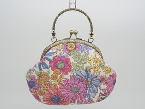 Feeling Coin Purse Bag Base Floral Pattern