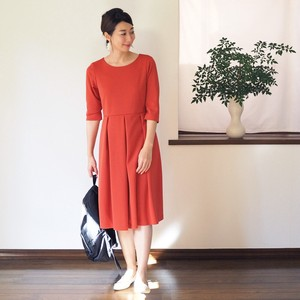 One-piece Dress Terracotta Sport Material