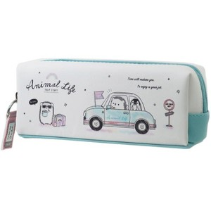 ANIMAL Twin Fastener Pencil Case Drive