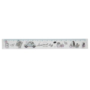 ANIMAL Slim 17cm Ruler Drive