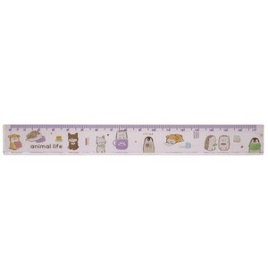 ANIMAL Slim 17cm Ruler